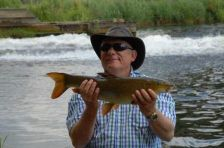 """Large Mike"" with a small barbel"""